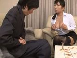 Business Dinner With Boss Nozomi Mikimoto Gone In Other Direction When She Served Her Tits For A Desert