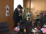 Dirty Boss Abused Poor Secretary In The Office  Mimi Saotome