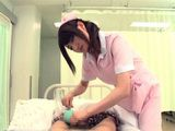 Young Nurse Was Supposed To Help A Patient Pee But When She Touched His Dick She Just Couldnt Resist