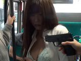Teacher Haruki Satou Gets Violated In Hijacked Bus at Gun Point In Front of her Terrified Students