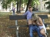 Street Hooker Giving Blowjobs In Public Park