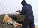 Blond Milf Fucked Under Gun Threat
