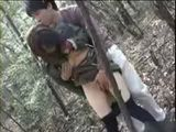 Japanese Teen Gets Fucked In Forest