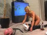 Step Daughter Preys On Drunk Daddy