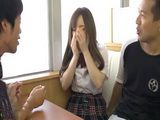Poor Schoolgirl Rino Sakuragi Unwillingly Hard Fucked And Pussy Creampied By To Guys Uncensored