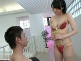Teen Cutie Airi Suzumura Blows Cock For Messy Facial