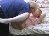 Old Man Take Advantage Of Young Blonde Girl