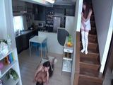 Japanese Girl Caught Step Mom And Brother In The Kitchen