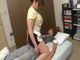 Busty Stepmom Knows How To Wake Up Her Sleeping Stepson
