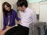 Japanese Teacher Seduced Her Student In A School Ambulance