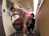 Hot Young Mom With Baby Came To Neighbor To Have Fun While Her Hubby Was At Work
